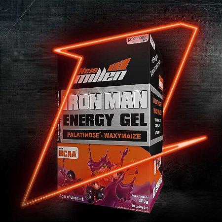 Carbo Gel Iron Man Açai com Guaraná - UN
