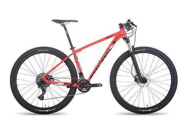 Bicicleta AUDAX Auge 600 2019 Aro 29/ 22V Vermelha  - TAM. 17