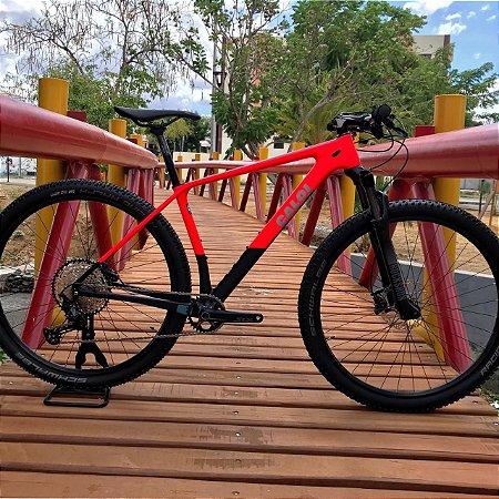 Bicicleta CALOI Elite Carbon Sport 2021 Aro 29 / 12V Vermelho - Tam. M