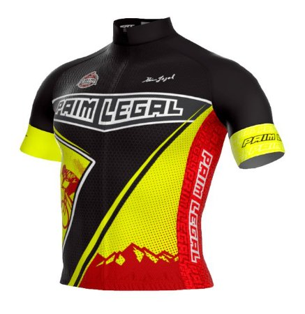 Camisa Paim Legal Pro Preta/ Amarela - Tam.  G