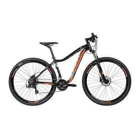 Bicicleta CALOI Kaiena Sport Aro 29/21V Preto/Amarelo 2020 - Tam. P
