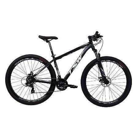 Bicicleta TSW Ride 29/21V  Preto Fosco - Tam. 15,5