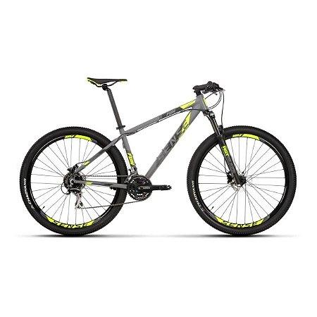 Bicicleta SENSE Fun Aro 29/ 24V Cinza/Amarelo - Tam. 17