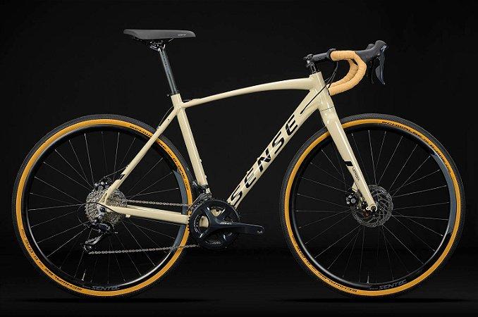 Bicicleta SENSE Versa Aro 29/18V Creme/Preto - Tam. 17