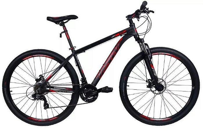 Bicicleta TSW Ride 2018 - Vermelha/Preto 21v - USADA