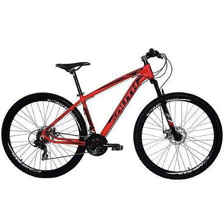 Bicicleta SOUTH Legend Vermelho/Preto - Tam. 17
