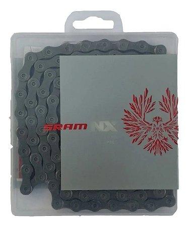 Corrente SRAM NX Eagle 12v  - Prata
