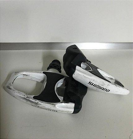 USADO - Pedal SHIMANO R540 - Branco