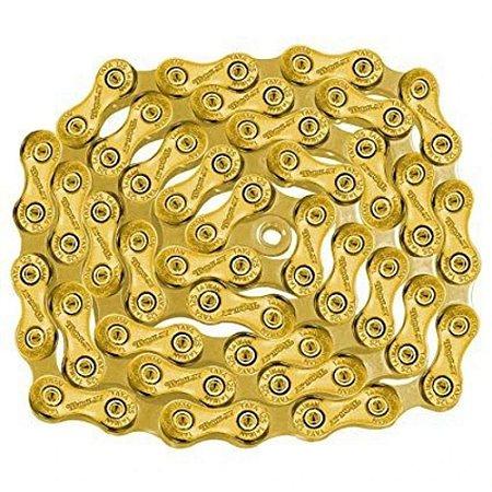 USADO - Corrente TAYA Tolv-121 12s Gold 126 Elos