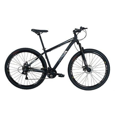 Bicicleta TSW Rava Pressure 21V Preto/Branco- Tam. 15