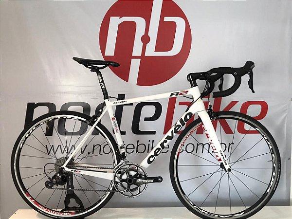 USADO - Bicicleta Cervélo R2 Branca/Preta - Tam. 54