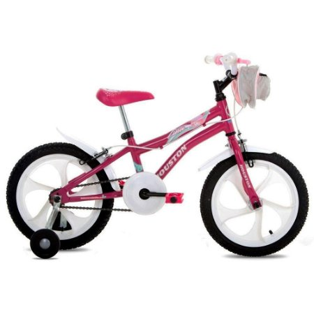 Bicicleta Houston Feminina Aro 16 Rosa