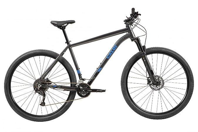 Bicicleta CALOi Explorer Comp 2021 18V Cinza - P