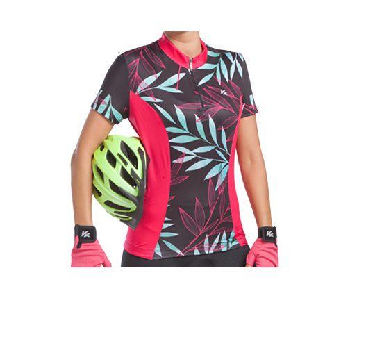 Camisa KANXA Ciclismo Feminino Floral - Tam. P