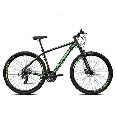 Bicicleta ALFAMEQ ATX Aro 29 21V  Preto/Verde  - Tam.15