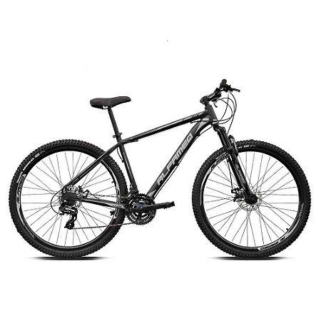 Bicicleta ALFAMEQ ATX Aro 29 21V  Preto/Cinza  - Tam.15