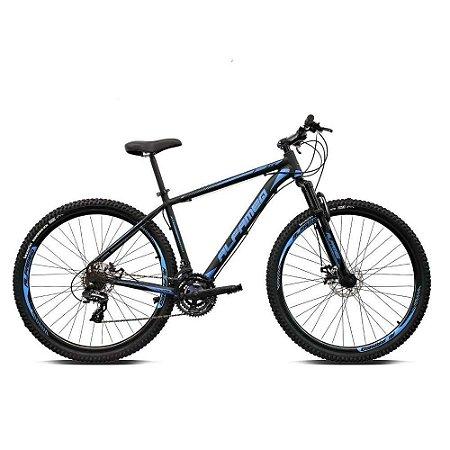 Bicicleta ALFAMEQ ATX Aro 29 21V  Preto/Azul  - Tam.17