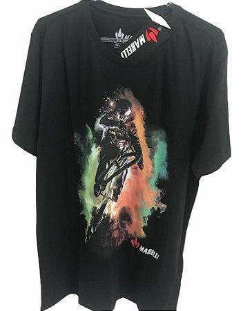 Camisa Casual MARELLI BMX Preto Tam - GG