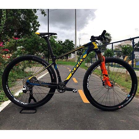 Bicicleta AUDAX AUGE 40 xx1 Aro 29 Preto/Amarelo Tam - 17