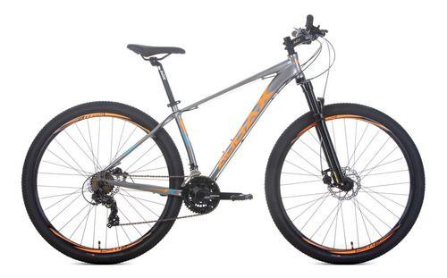 Bicicleta Havok SX Aro 29 Tam - 17 cinza/laranja