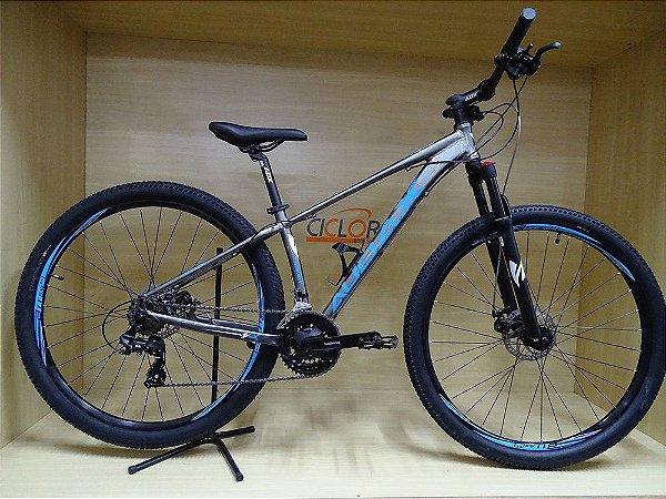 Bicicleta Havok SX Aro 29 Tam - 17 azul/cinza