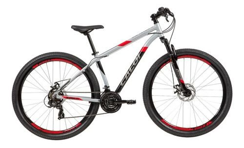 Bicicleta Caloi Supra 2021 Cinza- Tam. M