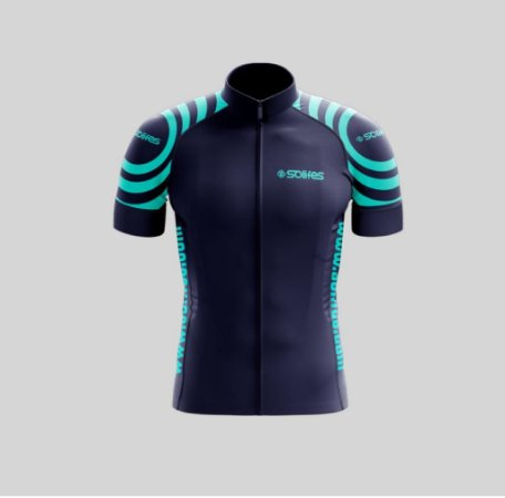 Camisa Ciclismo Azul c/ Azul M