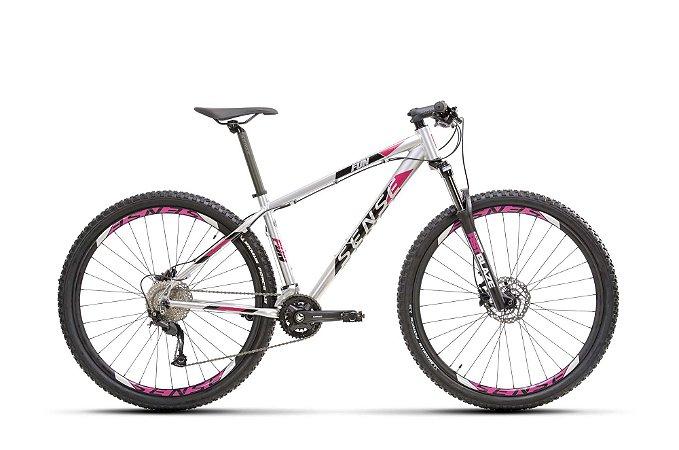 Bicicleta SENSE Fun Evo 2021 Aluminio/Roxo - Tam. M