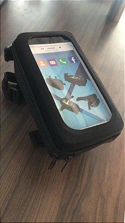 Bolsa para Celular Fixa no Quadro Touch Screen