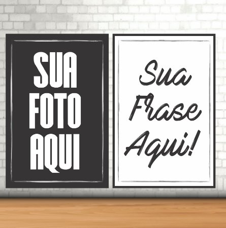 Kit - 5 Placas Decorativas Vintage em MDF 20x30cm