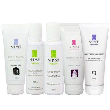 Kit de Tratamento Facial: Limpeza e Hidratação Shinsei