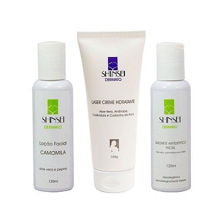 Kit Dia das Mães Rosto Perfeito - Limpeza, Tonificação e Hidratação