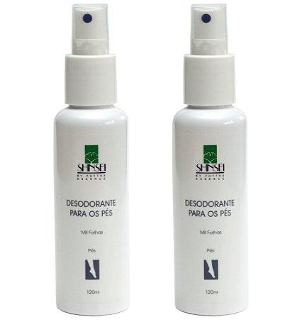 Desodorante para Pés 120ml - 50% na 2ª UNIDADE