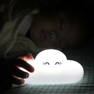 Lâmpada de cabeceira nuvem cartoon