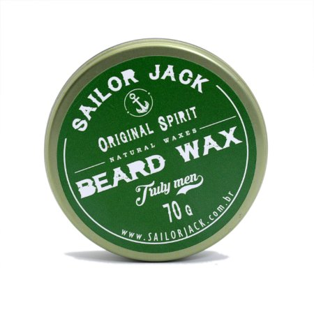 Cera para Barba Original Spirit - Sailor Jack - 70g