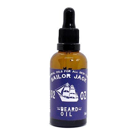 Óleo de barba Montedor - Sailor Jack - 50ml