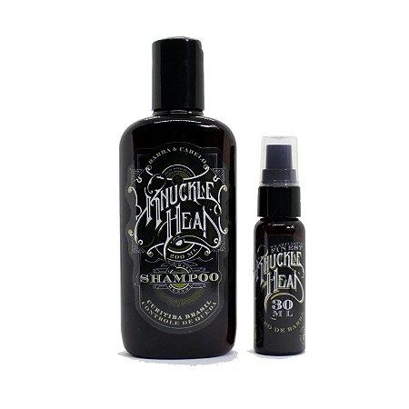 Kit Knucklehead Shampoo + Óleo para barba