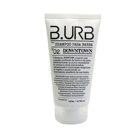 Shampoo para barba B.URB DOWNTOWN #02 - 140ml