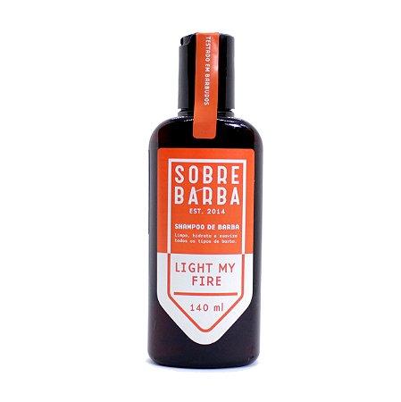 Shampoo para Barba Sobrebarba 140ml - Light my Fire
