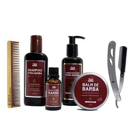 Kit Pelas Barbas / MMA cuidado completo com a barba
