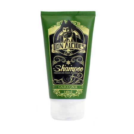 Shampoo para Barba Don Alcides Calico Jack - 140ml