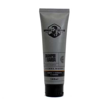 Shampoo para barba Citrus Woods Barba brava - 140ml