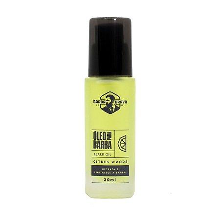 Óleo para barba Citrus Woods Barba Braba - 30ml