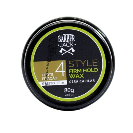 Cera capilar Barber Jack Style Firm Hold Wax 4 - 80g