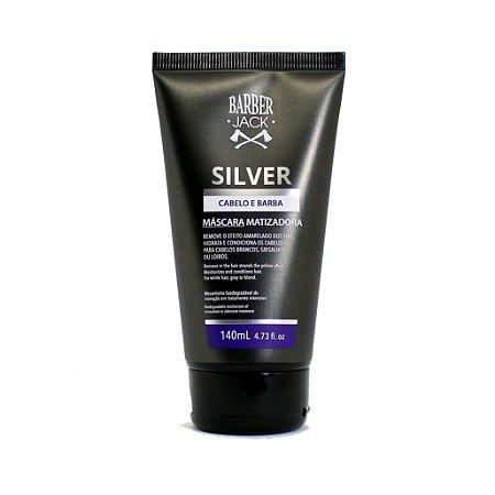 Máscara Matizadora Silver Barber Jack - 140ml