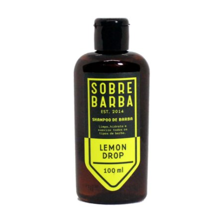 Shampoo para barba Lemon Drop Sobrebarba - 100ml