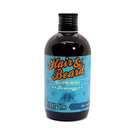 Shampoo Bomba com Minoxidil para barba Sailor Jack - 250ml