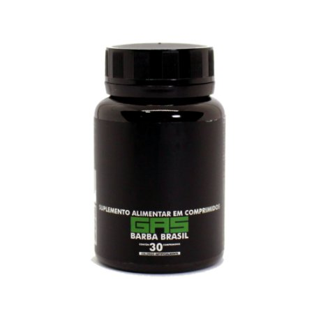 GAS - Suplemento Capilar Barba Brasil - 30 DIAS