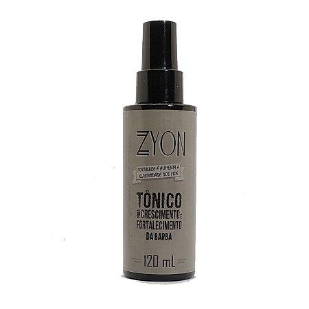 Tônico para crescimento e fortalecimento de barba Zyon - 120ml