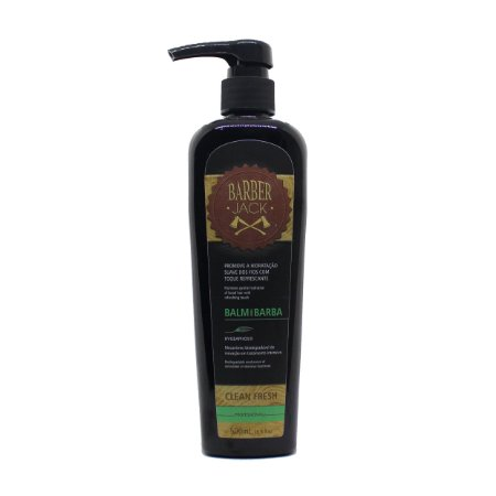 Balm para barba Barber Jack - Clean Fresh 500ml